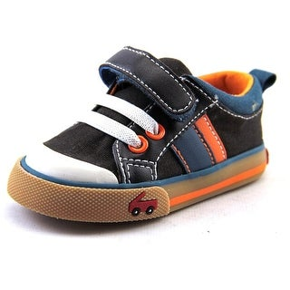 See Kai Run Corbin Round Toe Canvas Sneakers
