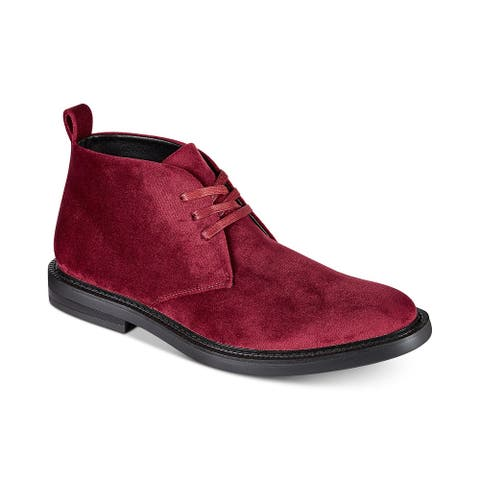 INC International Concepts Mens Salem Leather Closed Toe Ankle Fashion Boots - 9.5