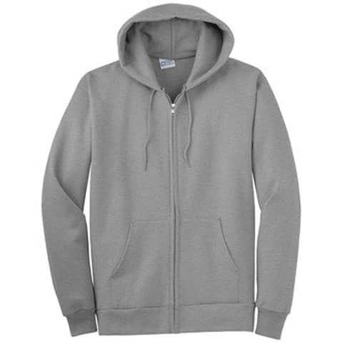 New Company Blank Zip-Up Hoodies