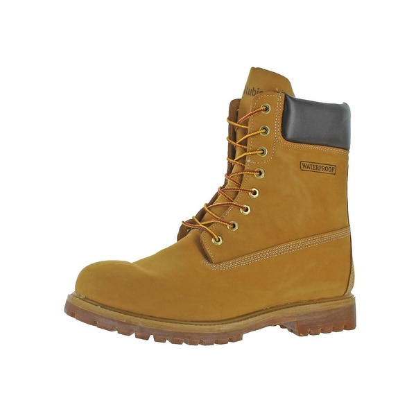 Rubicon Mens Work Boots Leather Waterproof