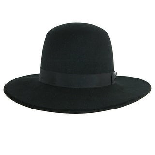 Stacy Adams Men's Wool Felt Tall Crown Fedora Hat