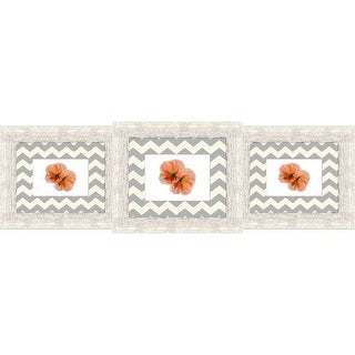 """PTM Images 165304 3 Opening 12"""" X 38"""" Collage Frame - White"""