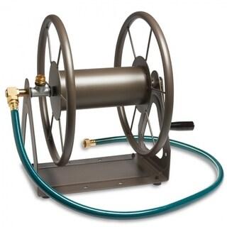Liberty GardenA¢ 703 Multi-Purpose 3-In-1 Steel Hose Reel, Brown, 200' Capacity