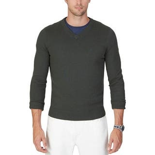 Nautica Mens Pullover Sweater Ribbed Trim Long Sleeves|https://ak1.ostkcdn.com/images/products/is/images/direct/d4ed5661bcd0e63d61951d52c62db41d39653d42/Nautica-Mens-Pullover-Sweater-Ribbed-Trim-Long-Sleeves.jpg?impolicy=medium