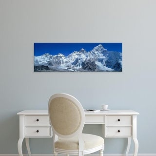 Easy Art Prints Panoramic Images's 'Himalaya Mountains, Nepal' Premium Canvas Art