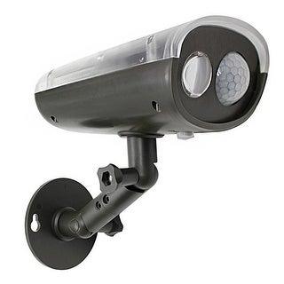 Mighty Power Wireless Solar Motion Ultra Bright LED 260 Lumen Sensor light, Weatherproof, Brown