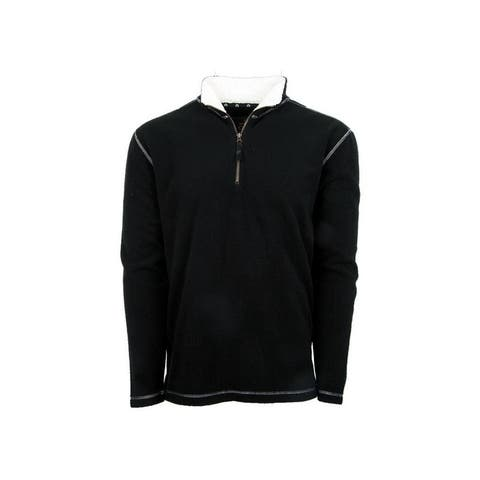 StS Ranchwear Western Sweatshirt Mens Cogburn Fleece Black