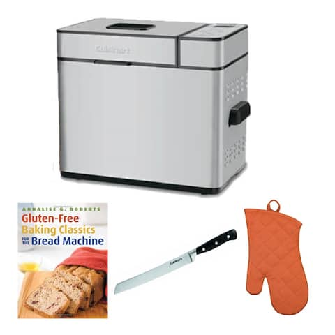 Cuisinart Programmable Breadmaker with Accessory Bundle (Refurbished)