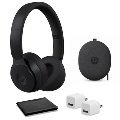 Beats Solo Pro Black with USB adapter