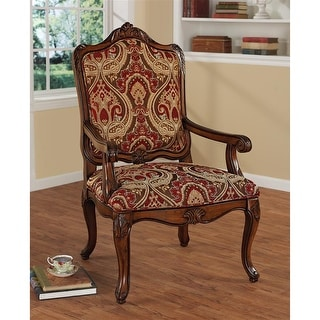 Design Toscano Louis XV Bergere Chair