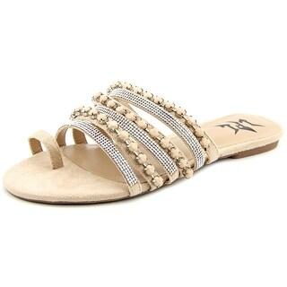 LFL Delite Open Toe Canvas Slides Sandal
