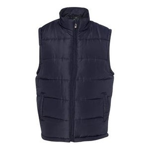Burnside Puffer Vest - Navy - 3XL