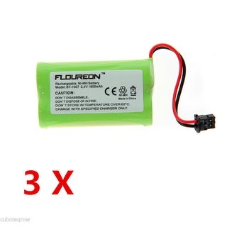 3 Cordless Phone Replacement Battery 1800mAh Ni-MH for Uniden BT-1007 BT-1015 US - Green
