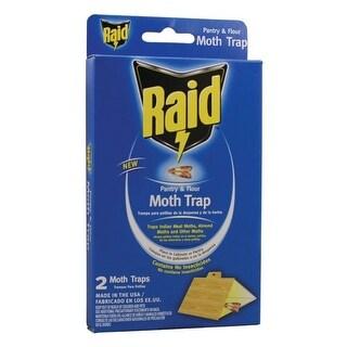 Pic Pmothraid Raid Pantry Moth Trap 2 Pk