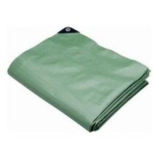 Polytuf Brands PYA30X40 Tarp Heavy Duty Green 30 ft. X40 ft.