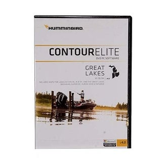 Humminbird 600016-4 Contour Elite Software Great Lakes