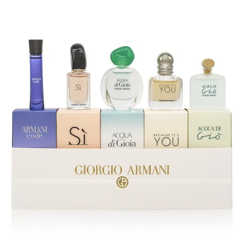Giorgio Armani 5-piece Mini Set for women