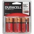 Duracell Quantum C 3Pk Battery - Thumbnail 0