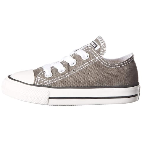 Kids Converse Girls All Star Canvas Low Top Lace Up Fashion Sneaker