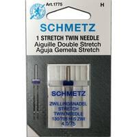 Schmetz Stretch Twin Needle - Size 4.0/75