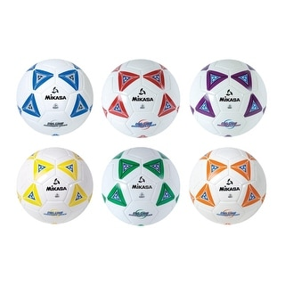 Mikasa Soccer Ball Set, Size 5, Assorted, Set of 6