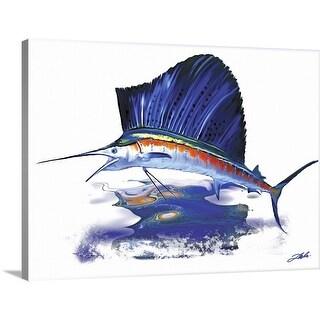 """""""Sailfish"""" Canvas Wall Art"""