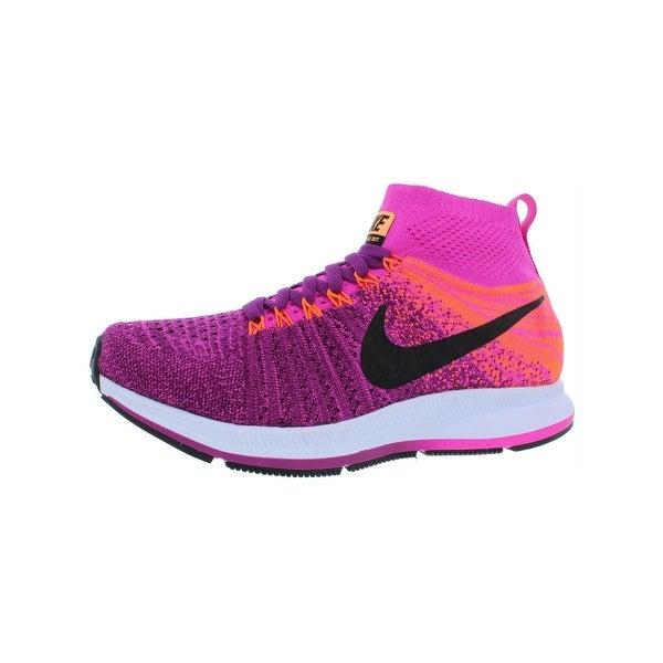 b8ec43ef18 Nike Girls ZM Pegasus All Out Flyknit Running Shoes Big Kid Lightweight