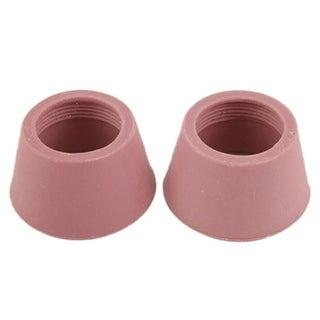 Unique Bargains 2 Pcs Welding Gas Threaded Ceramic Cups Nozzles Parts