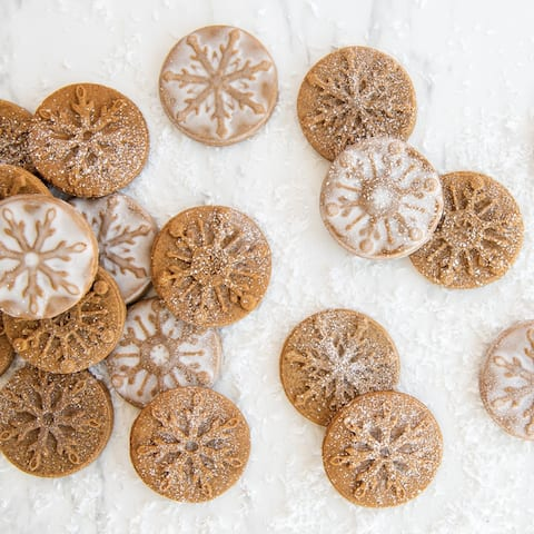 Nordic Ware Snowflake Cookie Stamps