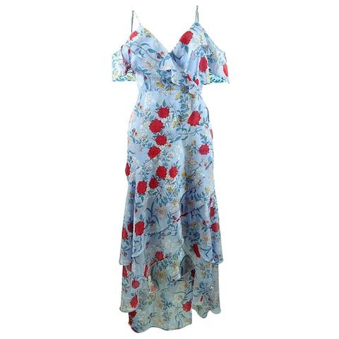 Bardot Women's Cold-Shoulder High-Low Dress