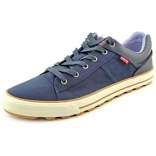 Levi's Ellison Men Round Toe Canvas Blue Sneakers