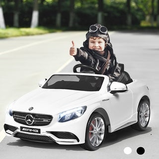Link to Costway 12V Mercedes-Benz S63 Licensed Kids Ride On Car Battery Similar Items in Bicycles, Ride-On Toys & Scooters