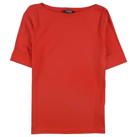 Ralph Lauren Womens Judy Basic T-Shirt
