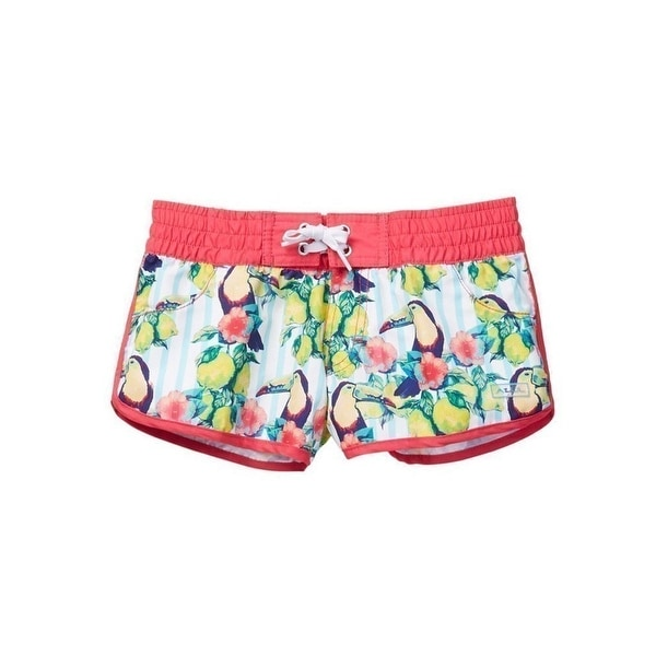 db7beddb17 Shop Azul Girls Multi Color Sour Toucan Print Elastic Band Swim Shorts -  Free Shipping On Orders Over $45 - Overstock - 20373640