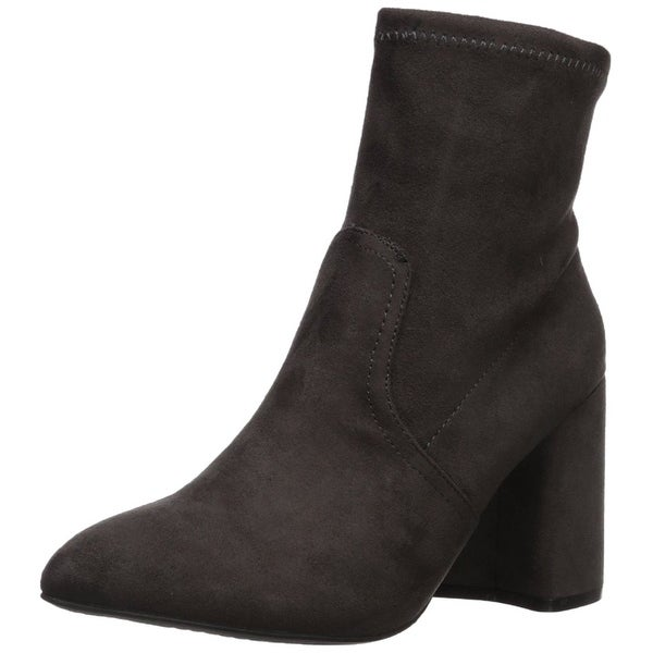 Qupid Womens mariko Fabric Pointed Toe Ankle Fashion Boots - 6.5