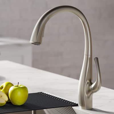 Kraus KPF-1675 Ansel 2-Function 1-Handle Pulldown Kitchen Faucet
