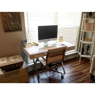 K Amp B Ho2960 Wh Computer X Desk Free Shipping Today