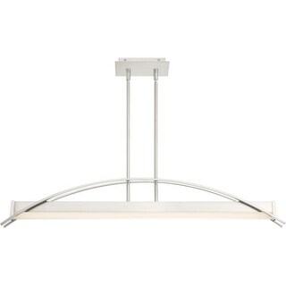 """Platinum PCSE138 Sabre 39-1/4"""" Wide Integrated LED Linear Chandelier with Acryli"""