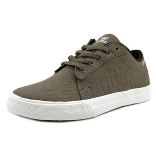 Supra Kids Belmont Youth Round Toe Canvas Brown Skate Shoe