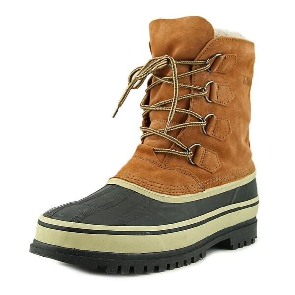 Khombu Adirondack Men Round Toe Suede Tan Winter Boot
