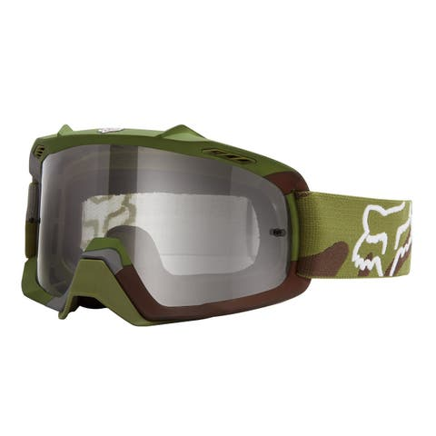 Fox Racing 2015 Youth Air Space Camo Goggle - 15361 - green camo/clear