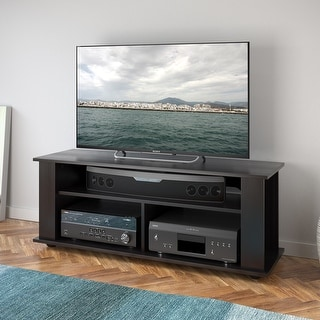 """Link to CorLiving Bakersfield Black TV Stand, For TVs up to 55"""" Similar Items in Printer Accessories"""