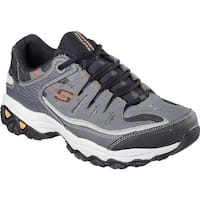 Skechers Men's After Burn Memory Fit Cross Training Shoe Charcoal/Gray