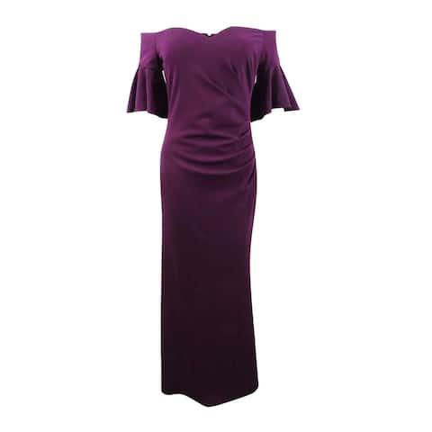 Calvin Klein Women's Off-The-Shoulder Sweetheart Gown