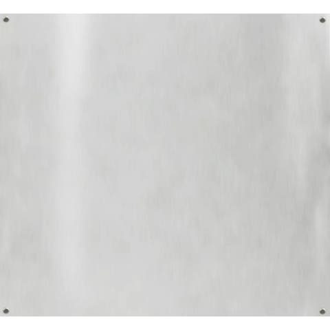 "Windster BS30 30"" Wide by 30"" Tall 430 Grade Stainless Steel Backsplash for use with Windster Range Hoods -"