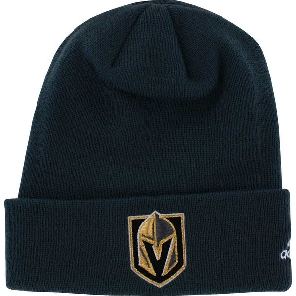 940ef54e414 Shop Vegas Golden Knights Cuffed Knit Hat - Free Shipping On Orders Over   45 - Overstock - 21651143