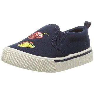 OshKosh B'Gosh Baby Boy foodie-b Canvas Slip On Sneakers