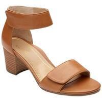 Vionic Women's Solana Ankle-Strap Sandal Saddle