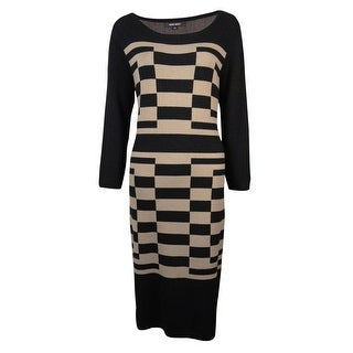 Nine West Women's Stretch Sweater Dress