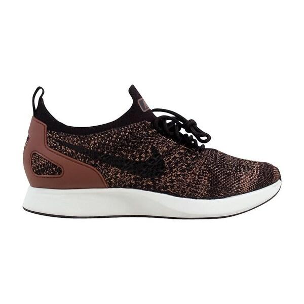 Shop Nike Women's Air Zoom Mariah Flyknit Racer Burgundy Ash